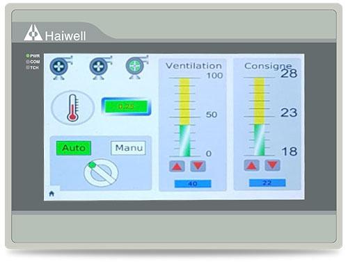 Haiwell海为以太网云HMI人机界面